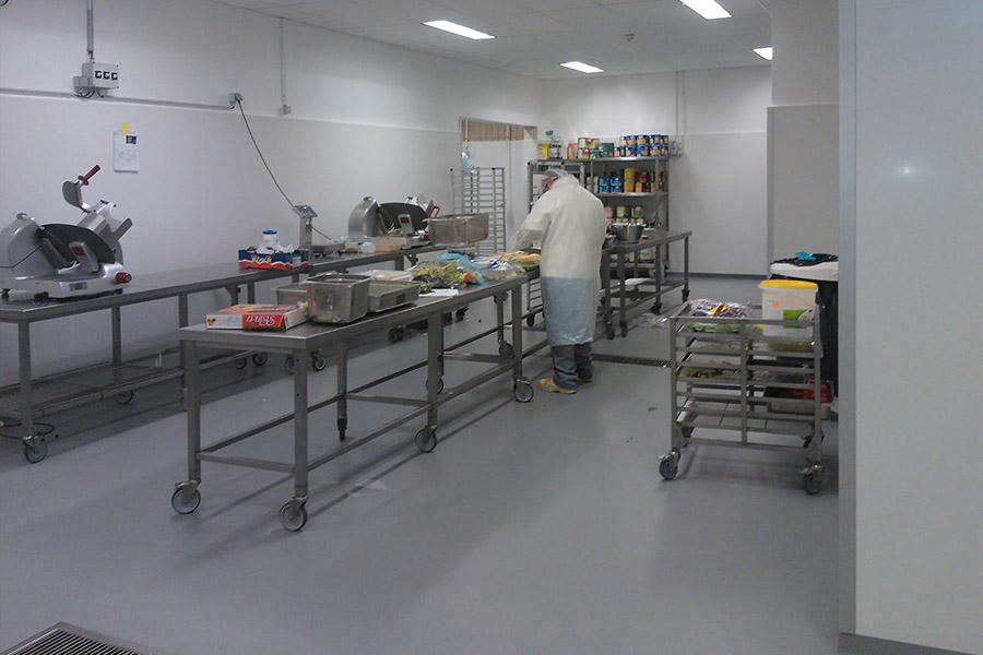 Haccp murs et plafonds kompas haccp wanden en plafonds for Atelier de cuisine bruxelles